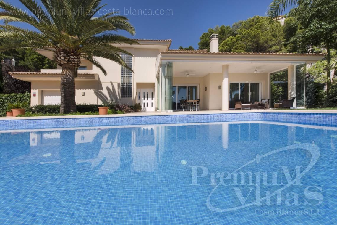 buy house villa Altea Costa Blanca - C1265 - Villa with sea views for sale in Altea 2