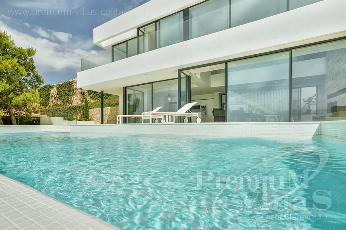 Modern 4 bedroom villa for sale in Gran Sol Calpe - C2080 - Modern villa for sale with spectacular sea views in Calpe 4