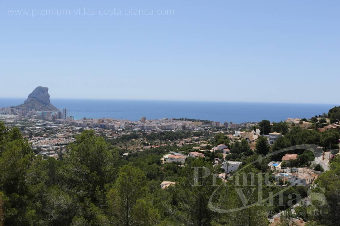 Buy modern villa with sea views in Oltamar Calpe - C2103 - Modern house built on one floor with breathtaking sea views 7