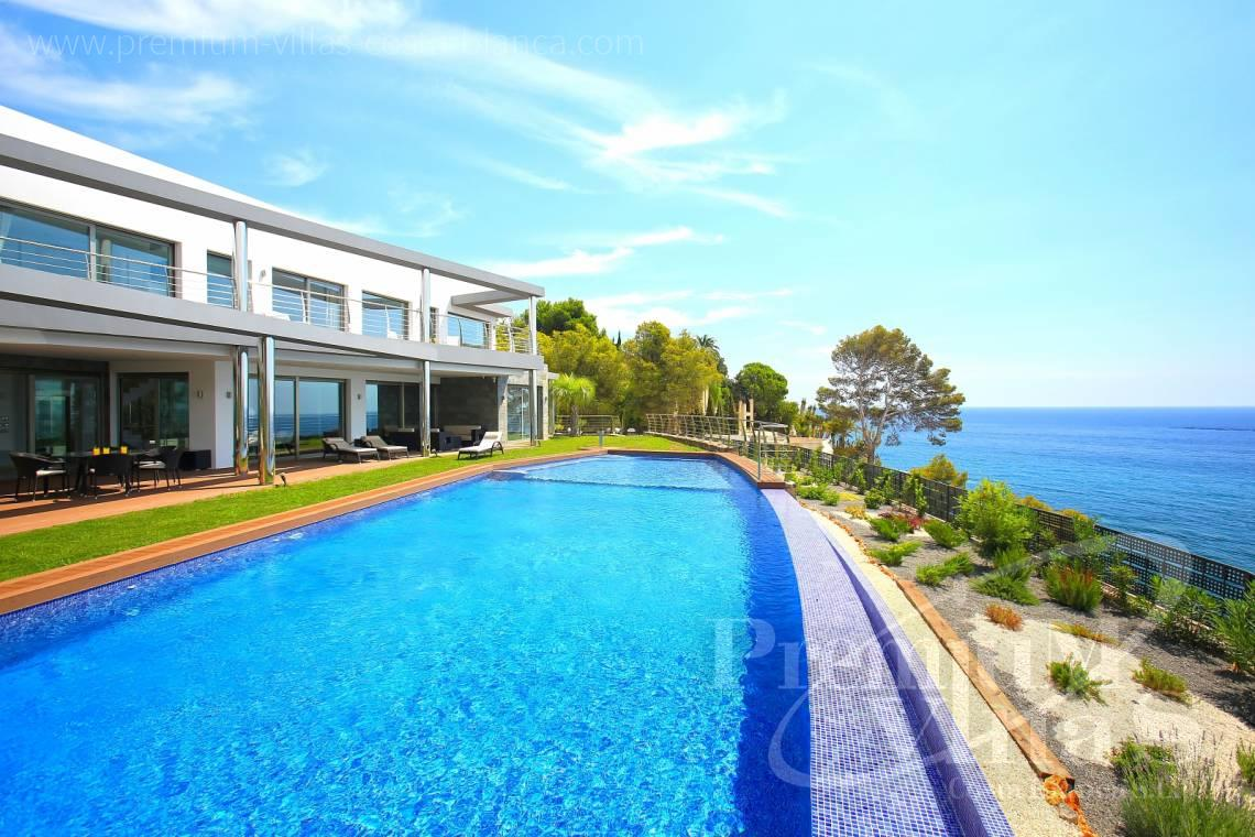 Buy villas houses sea view Altea Costa Blanca - C1531 - Sea front villa in Altea! A unique luxury villa at the Costa Blanca 26