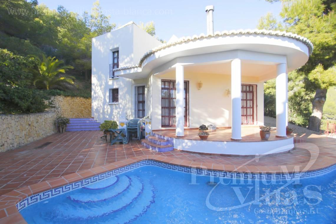 - C2132 - House surrounded by nature with beautiful sea and mountain views in Altea. 19