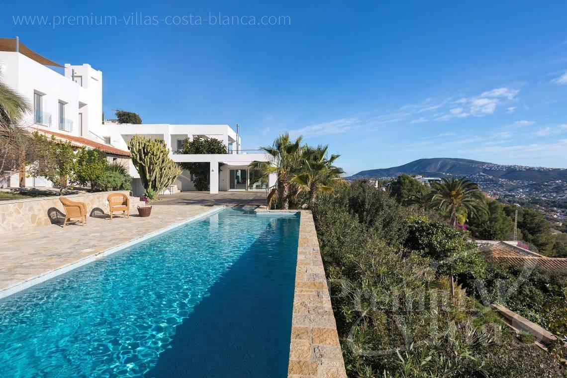 modern villas houses for sale Moraira  Costa Blanca Spain - CC2385 - Modern villa with panoramic sea views in Moraira 1
