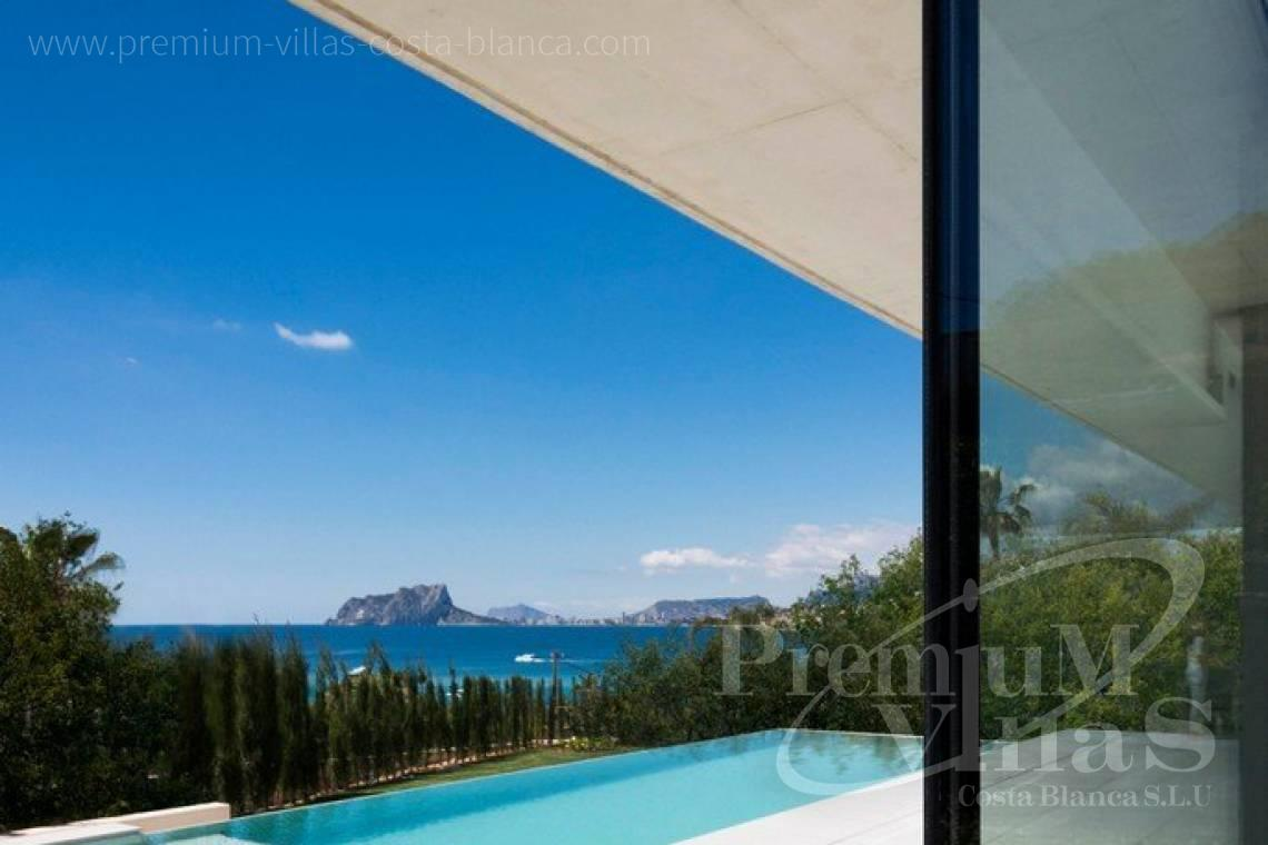 Buy a luxury villa with sea views in Moraira Costa Blanca - C2343 - Modern luxury villa in Moraira 2