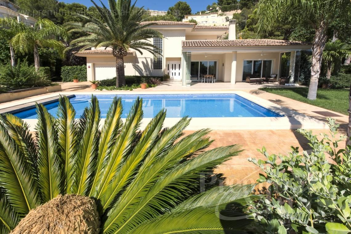 buy 4 bedrooms house villa Altea Costa Blanca Spain - C1265 - Villa with sea views for sale in Altea 3