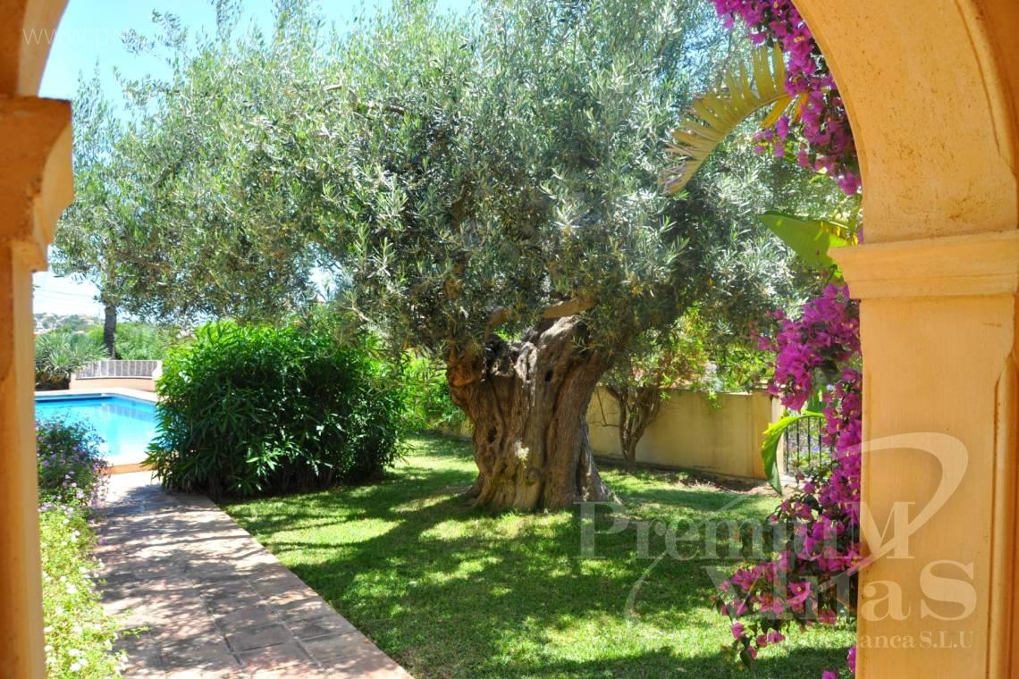 finca, land house for sale Benissa Costa Blanca - C2185 - Rustic villa in Benissa with sea views at 1.400m from the beach. 16