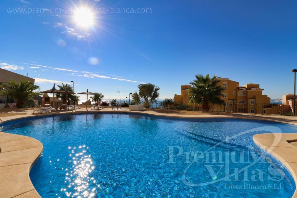 Penthouse apartment sea views Altea Costablanca - A0611 - Apartment in Mascarat urb. Jazmines 17