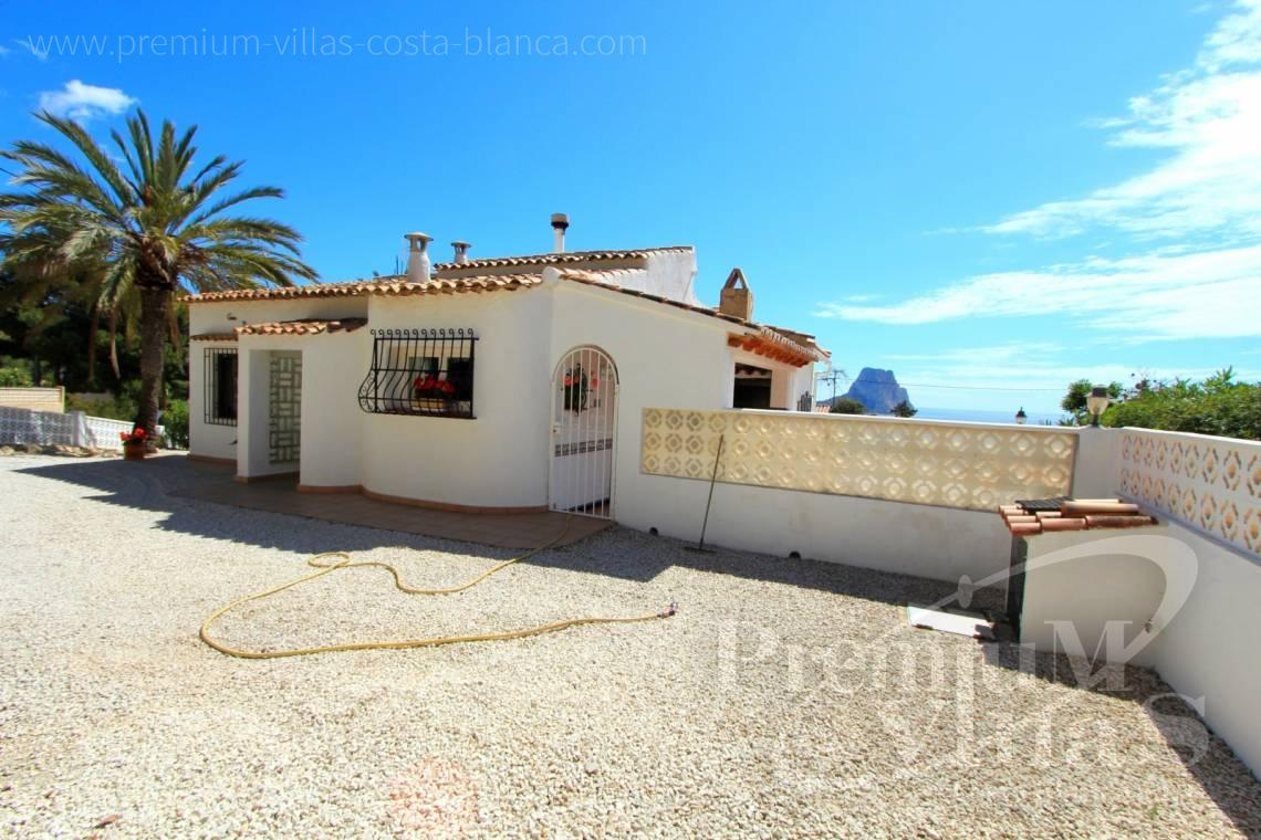 Buy villas houses sea view Calpe Costa Blanca - C1952 - House with a flat plot and lots of potential close to the sea and with sea views 4