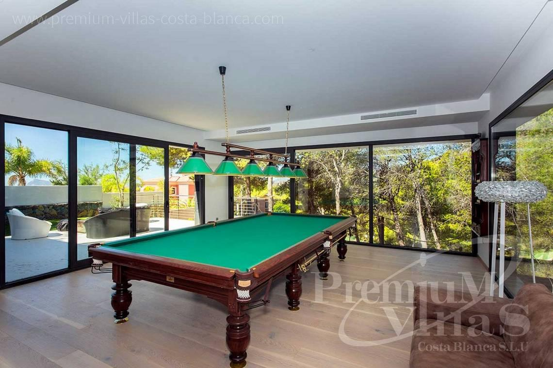 Billiard Room in luxury villa in Altea Hills - C2081 - Spacious luxury villa in Altea Hills 9