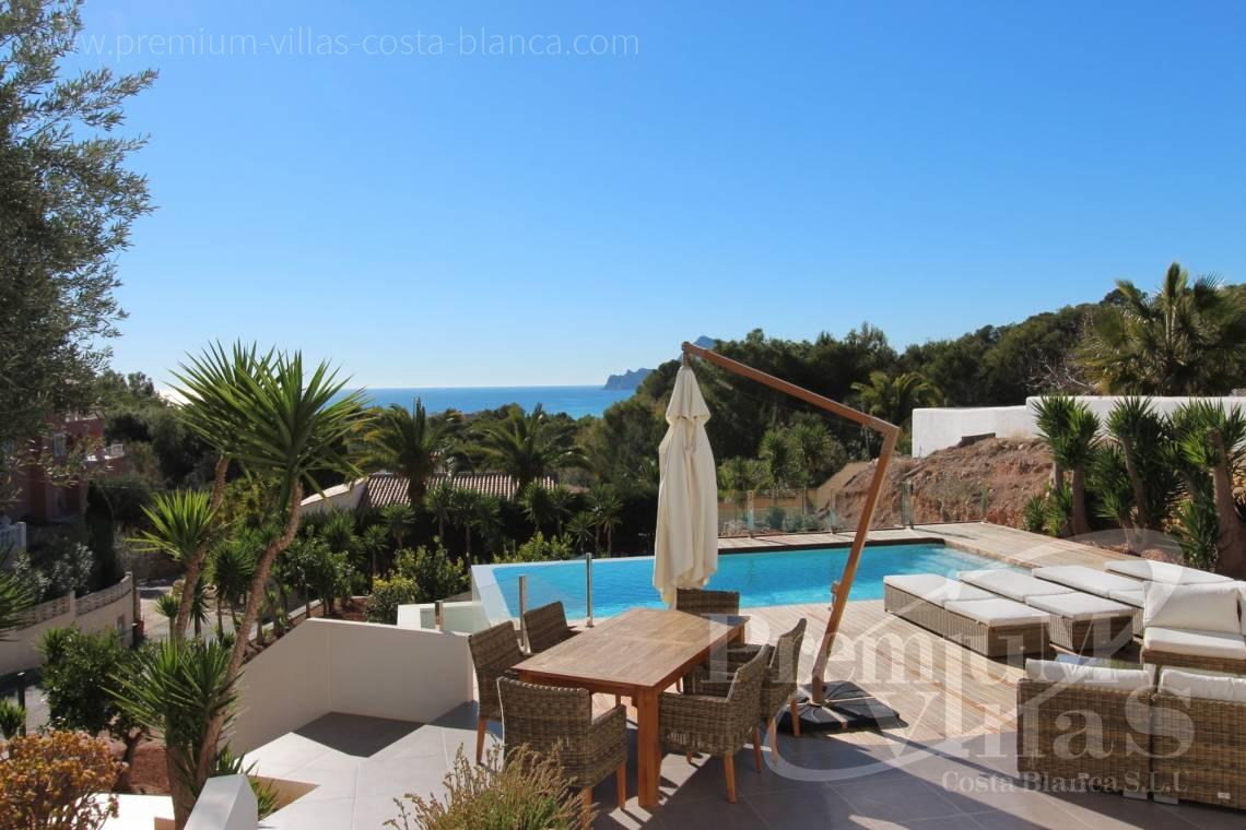 Buy Ibizan style villa with sea views in Altea Costa Blanca - CC2387 - Ibizan style villa with sea views in Altea 2