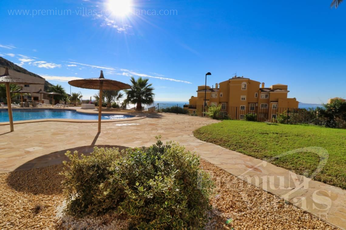 Penthouse apartment sea views Altea Costablanca - A0611 - Apartment in Mascarat urb. Jazmines 20