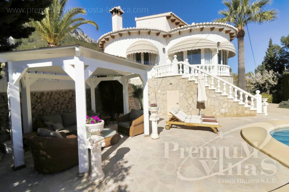 Buy 3 bedroom Mediterranean villa in Calpe Spain - C2265 - Sea view mediterranean villa 3 bedrooms in Calpe 3