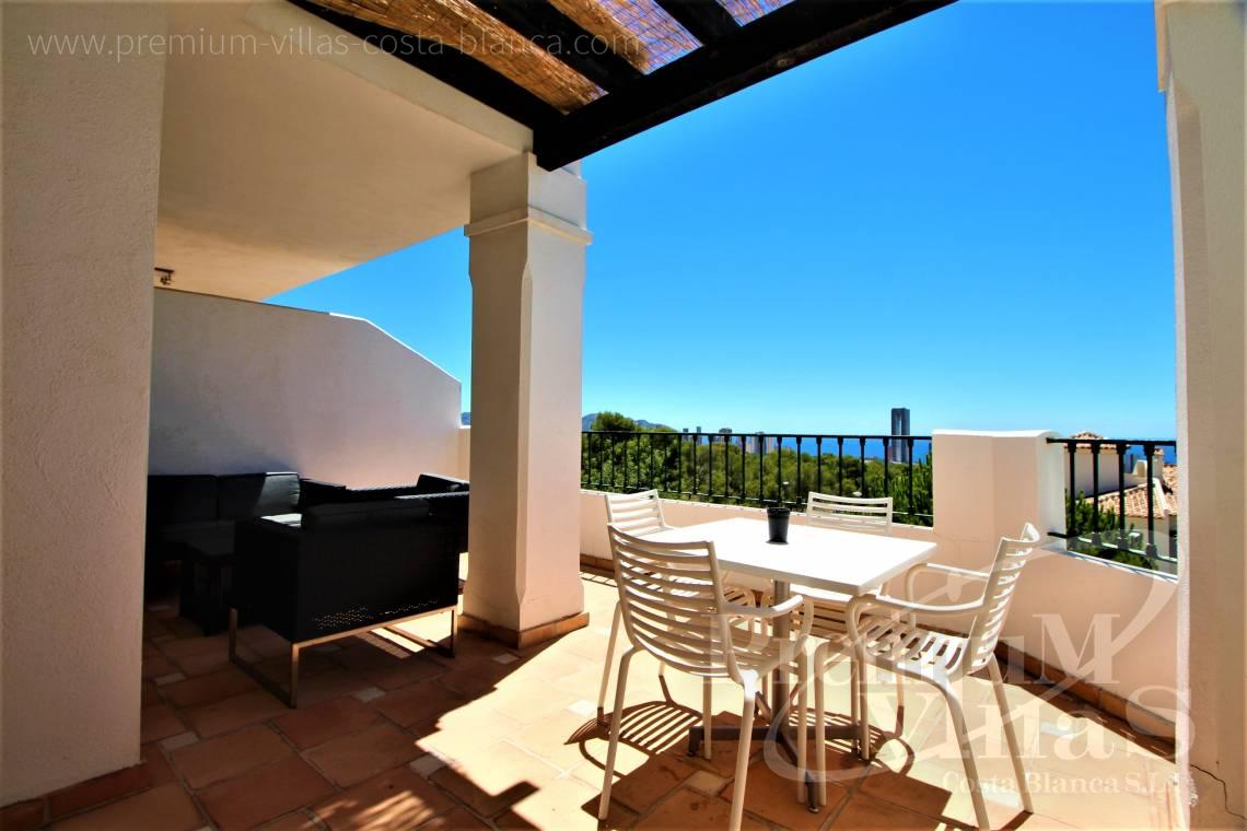 For sale apartment with sea views in Sierra Cortina Finestrat - A0629 - 1 bedroom apartments with sea views in Finestrat 4