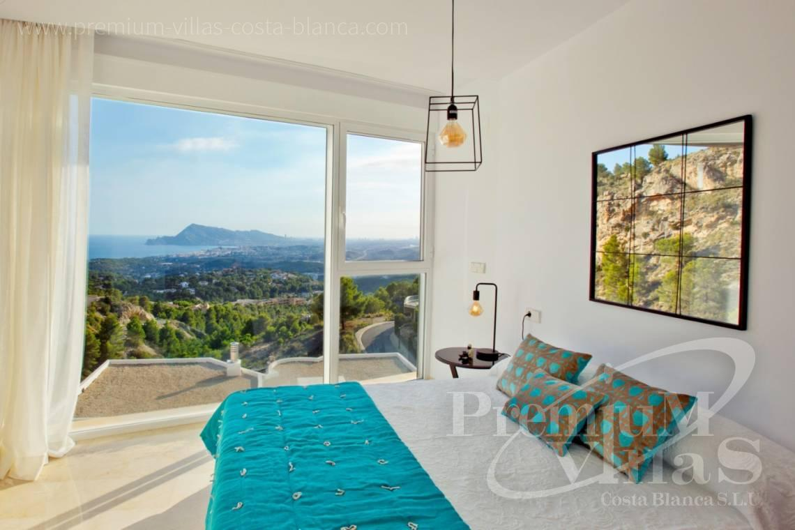 Buy 4 bedrooms villas houses sea view Altea Costa Blanca - C2243 - Modern and furnished villa in Sierra de Altea 9