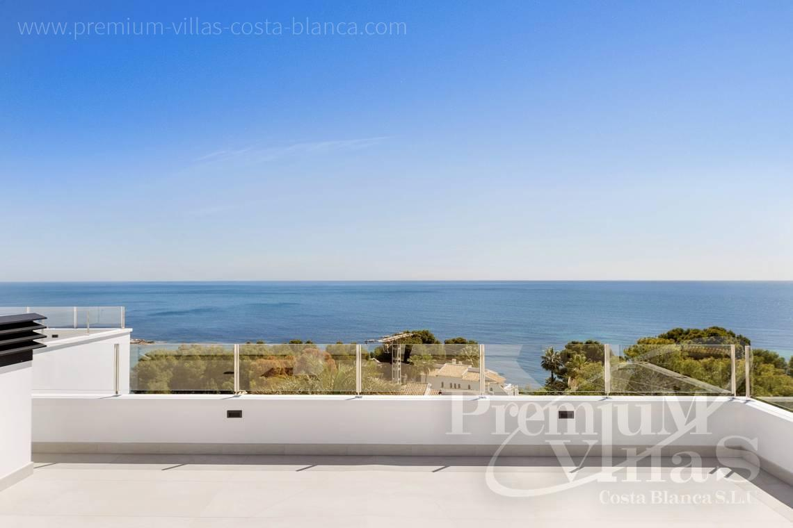 Buy modern villa with sea views in Calpe Costa Blanca - C2374 - Luxury villa with sea views in Les Bassetes, Calpe 2