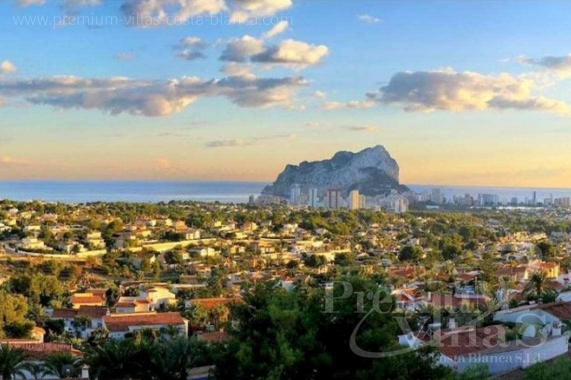 buy villa house Costa Blanca Spain - C2390 - Modern villa with elevator and sea views in Calpe 4