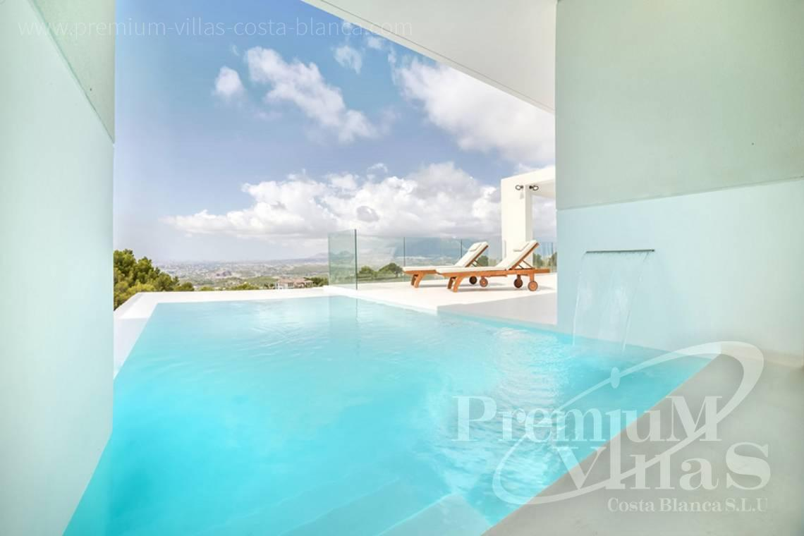 modern house with swimming pool Altea Costa Blanca - C1472 - Modern villas (4 units left) with sea views in Altea 5