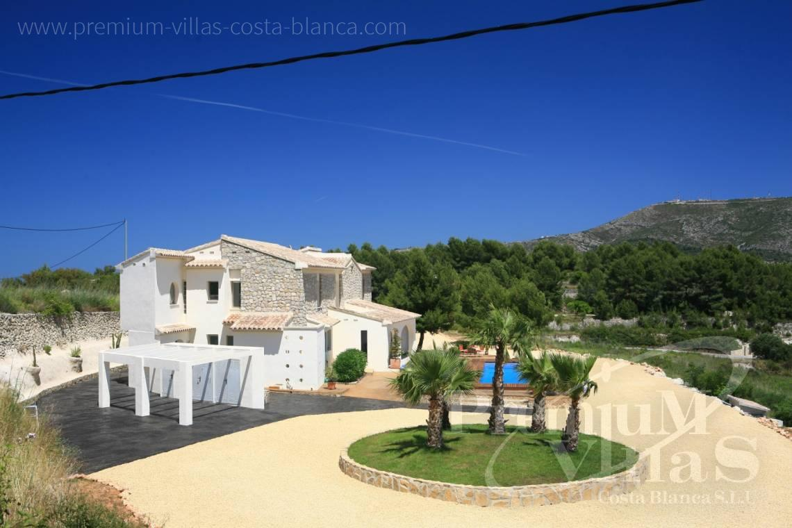 - C2199 - Moraira: Beautiful villa surrounded by vineyards with beautiful sea views. 13