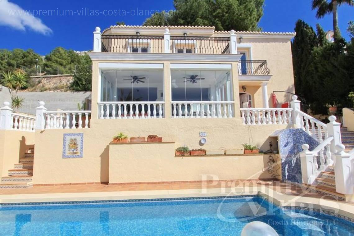 buy property Costa Blanca Spain - C1761 - Villa for sale with superb sea views in Altea Hills 2