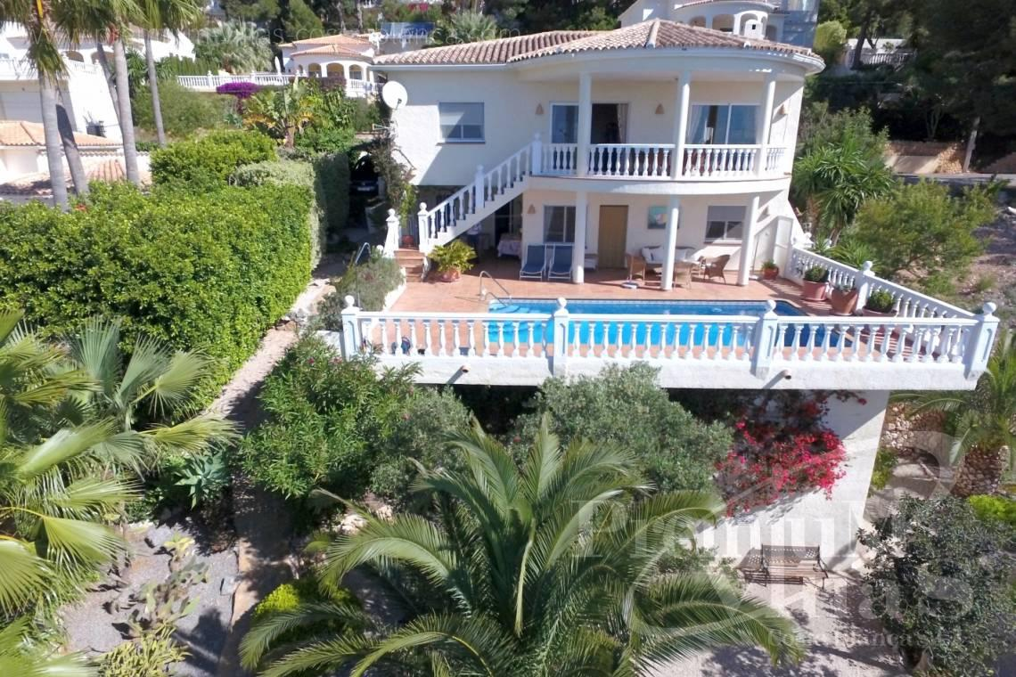 buy house villa Altea Costa Blanca - C2017 - Nice sea view villa with spacious guestapartment 1