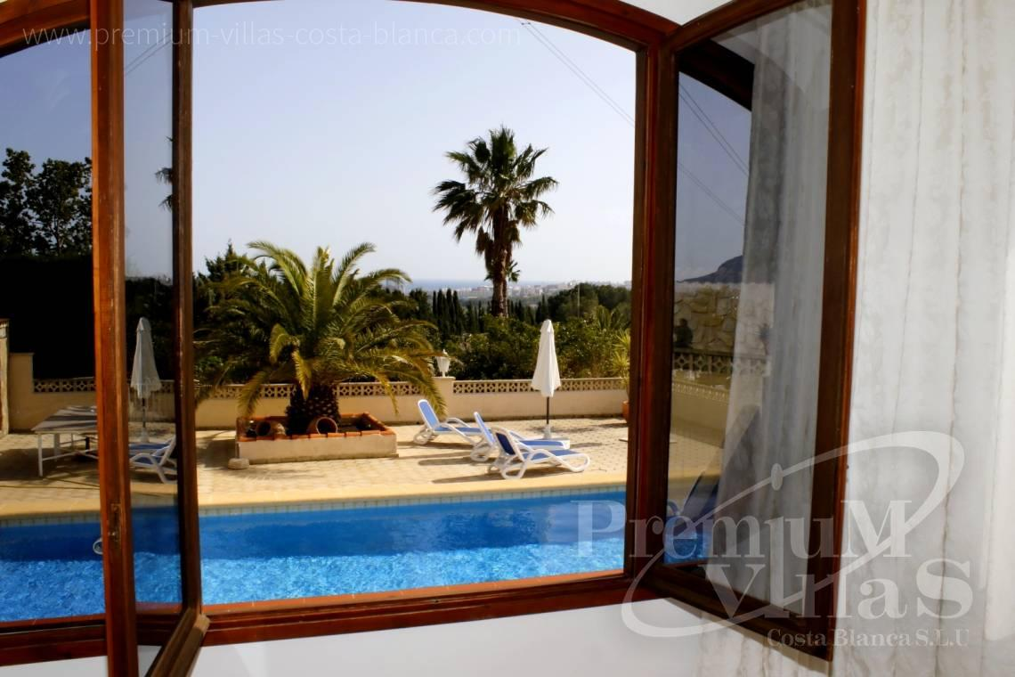 Buy villas houses sea view Calpe Costa Blanca - C2153 - Villa in Calpe with guest apartment and wonderful views 4