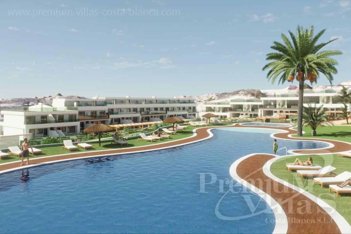 Luxury residential apartments for sale in Finestrat Spain - A0622 - 2 bedrooms apartments with sea views in Finestrat 4