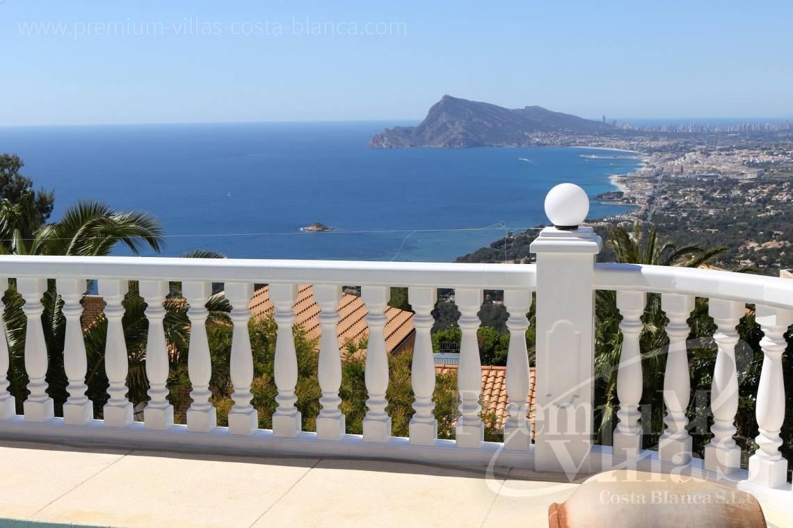 Villas for sale with sea views in Altea - C2041 - Location, location location! Fantastic villa in Altea Hills  15