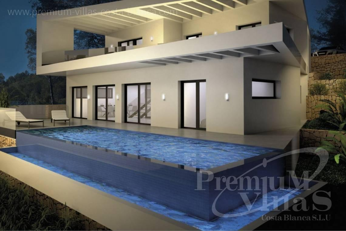 Buy house villa mansion luxury Altea Costa Blanca - C2149 - Modern villa in Altea Hills with stunning sea and bay views 4