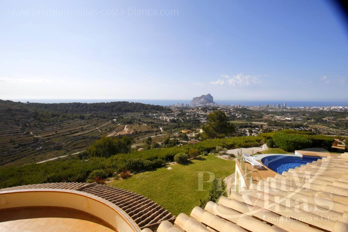 Buy villas houses sea view Calpe Costa Blanca - C2174 - Luxury mansion on 3 levels with elevator and sea views in Calpe 2