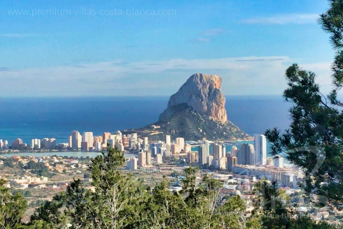 Modern villa for sale with panoramic sea views in Oltamar Calpe - C2103 - Modern house built on one floor with breathtaking sea views 2