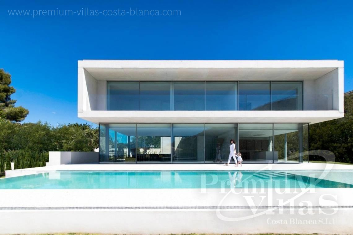 Modern luxury villa for sale in El Portet Moraira - C2343 - Modern luxury villa in Moraira 1
