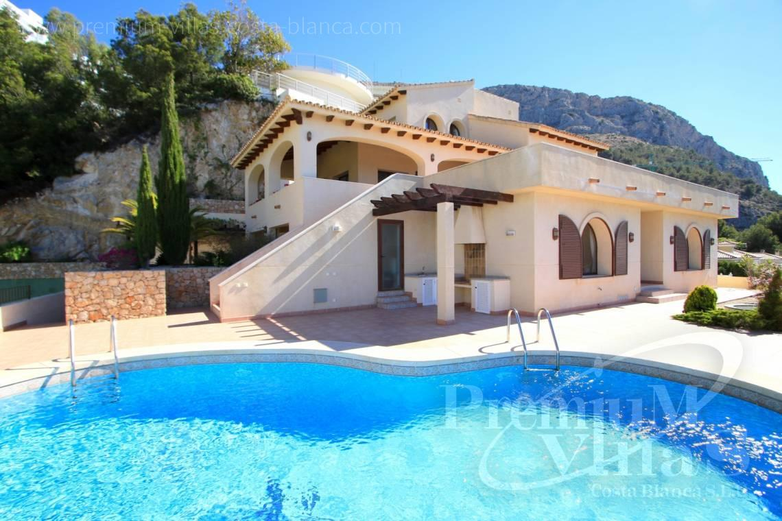 Mediterranean 4 bedroom villa in Altea Hills - C1962 - Mediterranean villa on a top location in Altea Hills with Tennis court 2