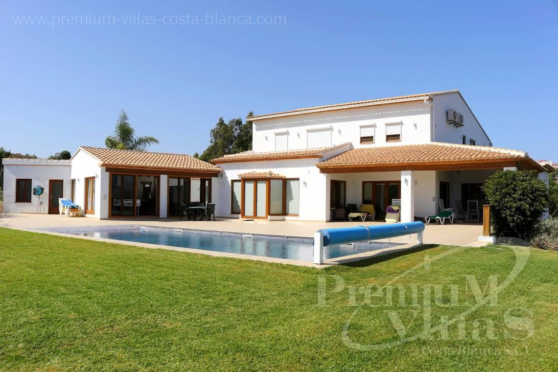 Finca with private pool in Benissa Costa Blanca - C2417 - Amazing Finca in Benissa with a 13.000sqm flat plot and sea views 3