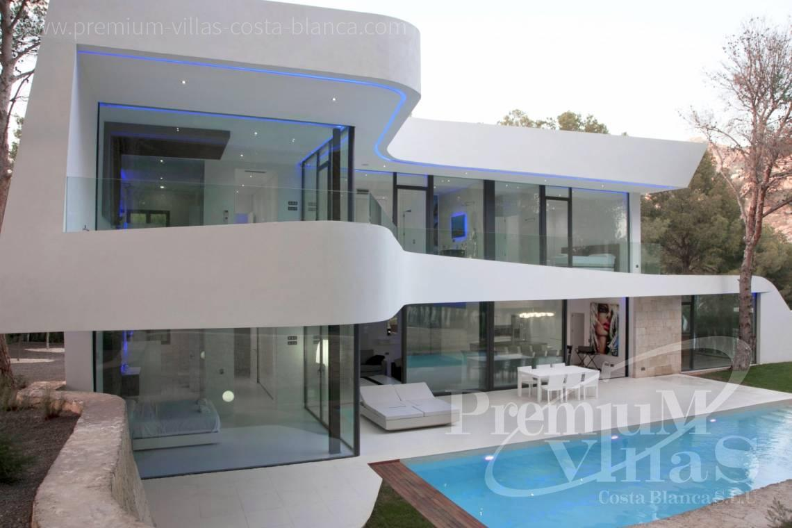 Buy modern villa close to the marina Campomanes in Altea - C2104 - Modern house in Altea only 300m from the beach 4