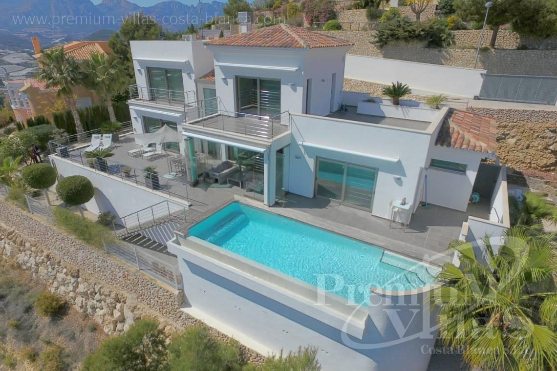 Modern luxury villa in Altea La Vella - C2057 - Modern luxury villa in Altea La Vella 1