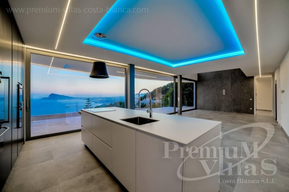Buy a modern 4 bedroom villa in Altea Hills Costa Blanca - C1915 - Brand new luxury villa in Altea Hills with fantastic sea views! 7