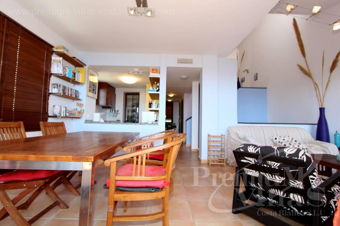 C1781 - Cozy corner townhouse with nice terraces, fantastic sea views in Altea Hills! 8