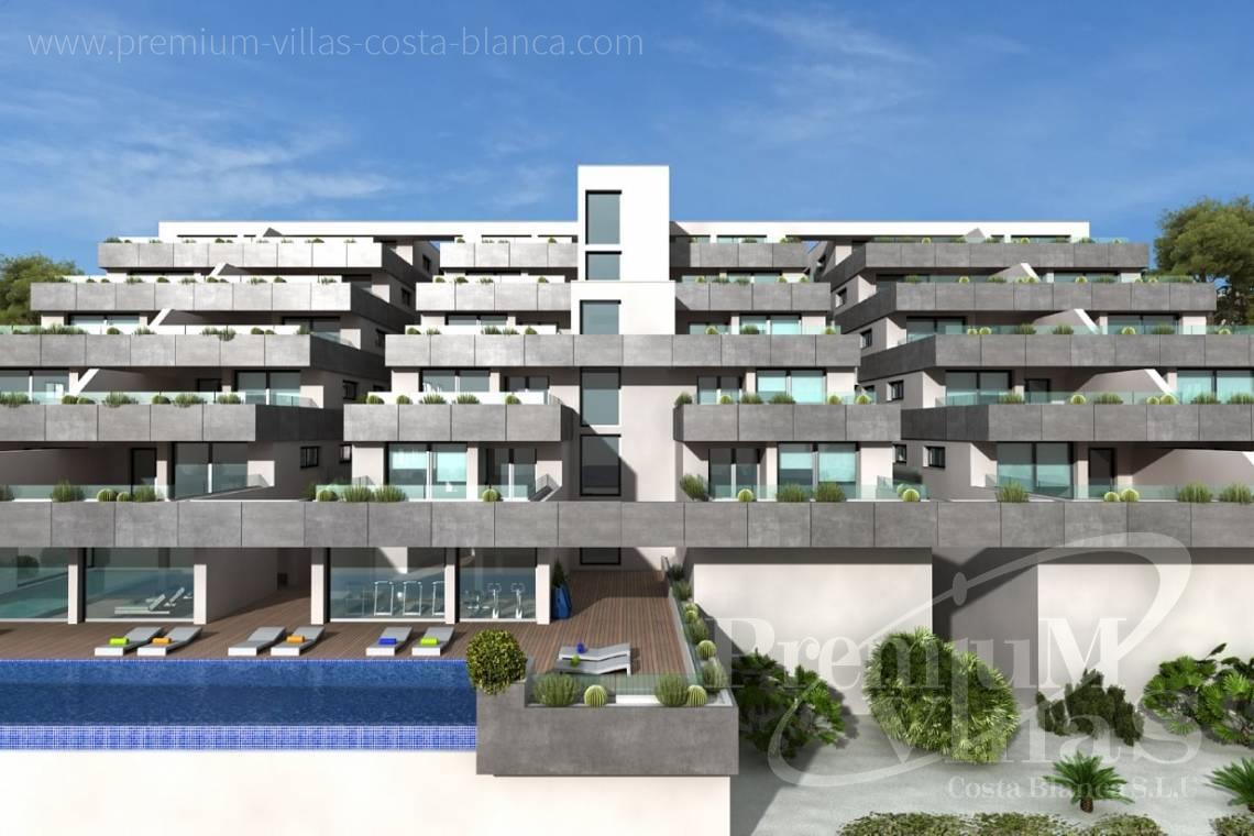 buy 3 bedrooms apartment  Benitachell Costa Blanca  - A0536 - Under construction: Modern and luxury appartments with large terraces 3