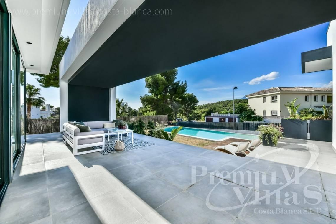 modern villas houses for sale Costa Blanca Spain - C2283 - New built modern villa in Altea La Vella 4