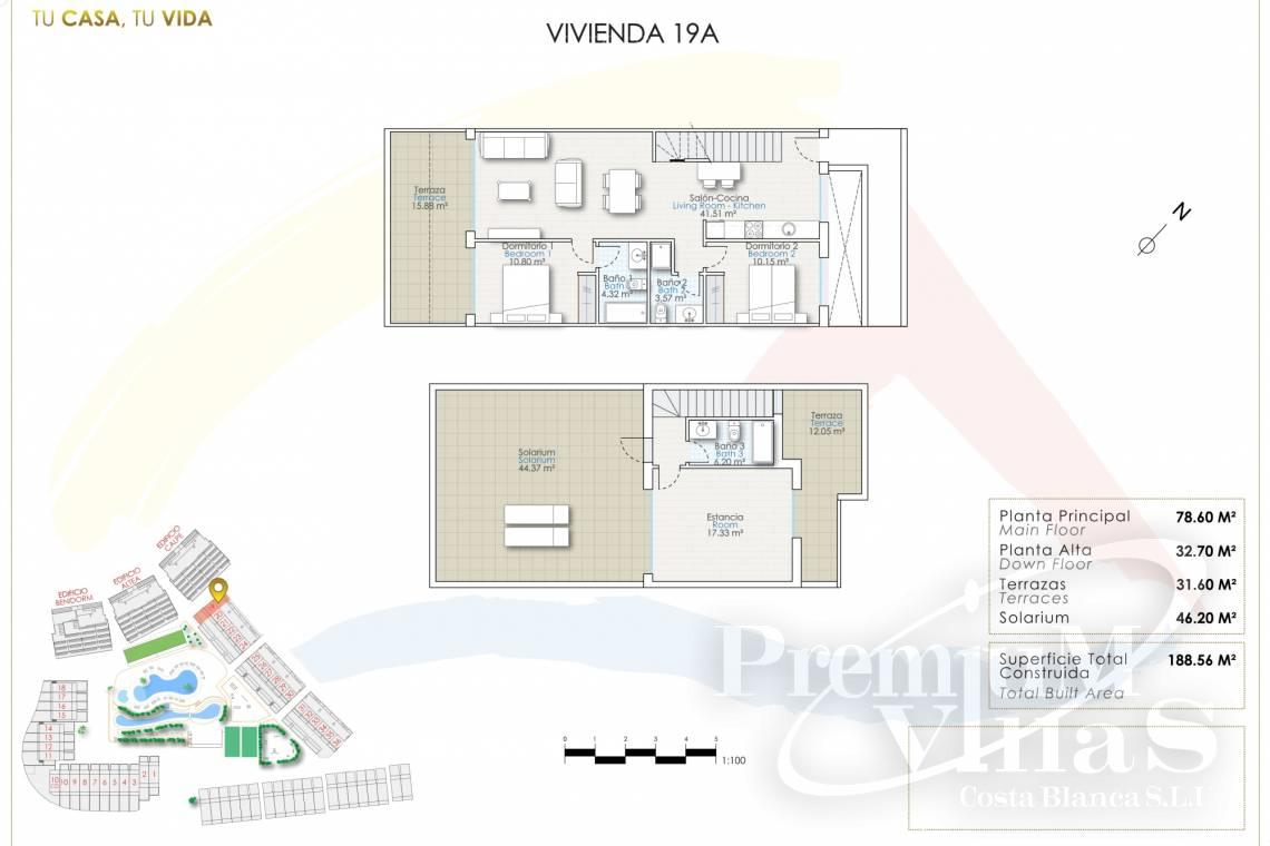 - A0623 - Duplex with garden or solarium in luxury urbanization in Finestrat 23