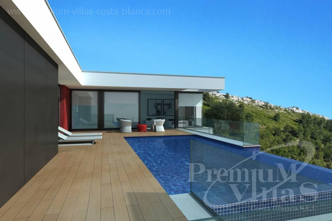 Modern villas with private pool in Benitachell Costablanca - C2025 - Modern new build with fantastic sea views 2