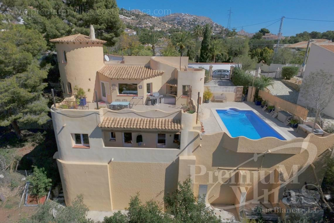 house villa for sale Altea Costa Blanca Spain - C2052 - Mediterranean villa for sale with modern interior 1
