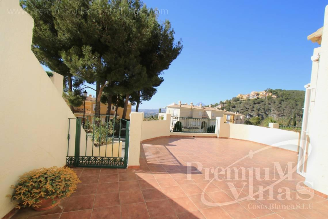 Buy bungalow in Altea Hills Costa Blanca - C1925 - Well maintained semi-detached house in Altea Hills with large terrace and garage 3