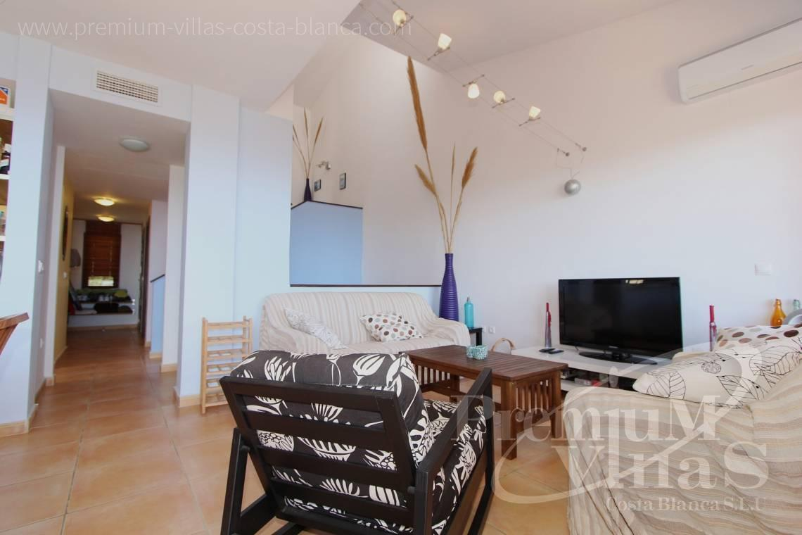 C1781 - Cozy corner townhouse with nice terraces, fantastic sea views in Altea Hills! 7