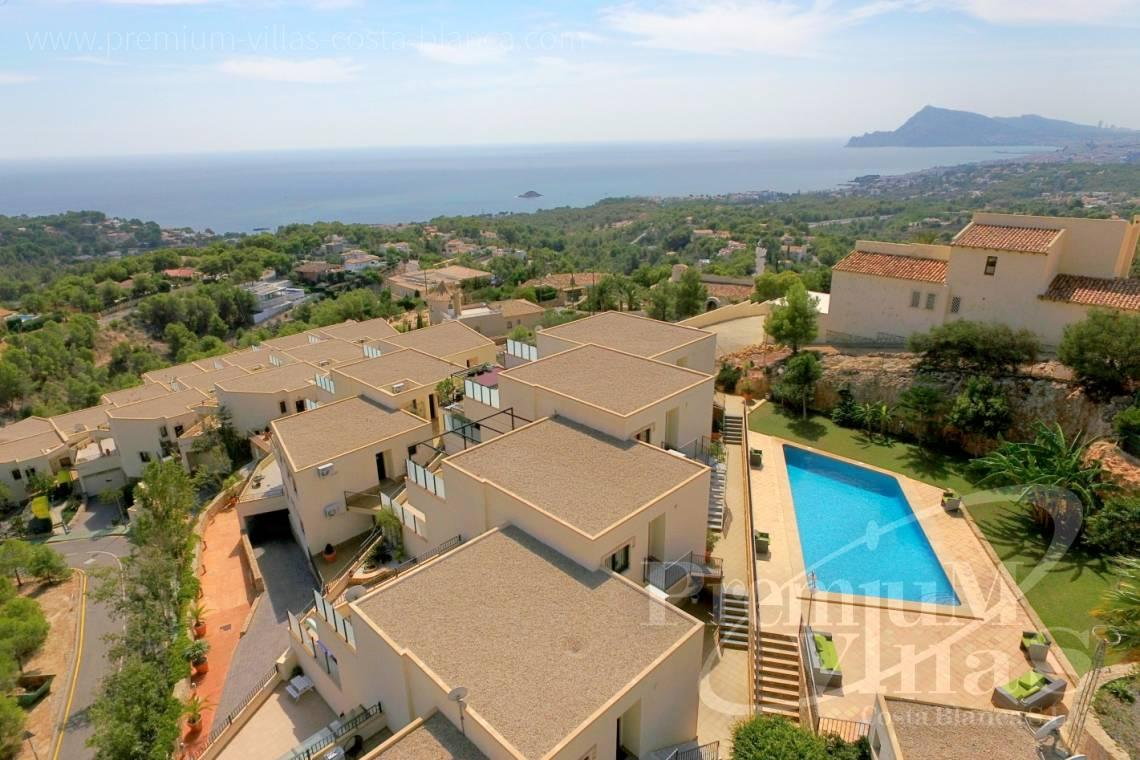 Buy bungalow in Altea Costa Blanca - C2212 - Sole agent! Beautiful bungalow in Mirador de Altea 1