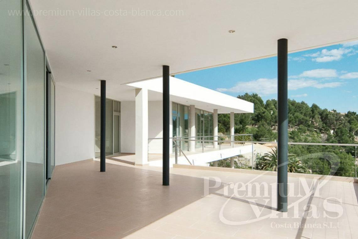 Modern villa for sale with sea views in the Sierra de Altea Spain - C1977 - Modern luxury villa for sale in Altea with magnificent sea views 8