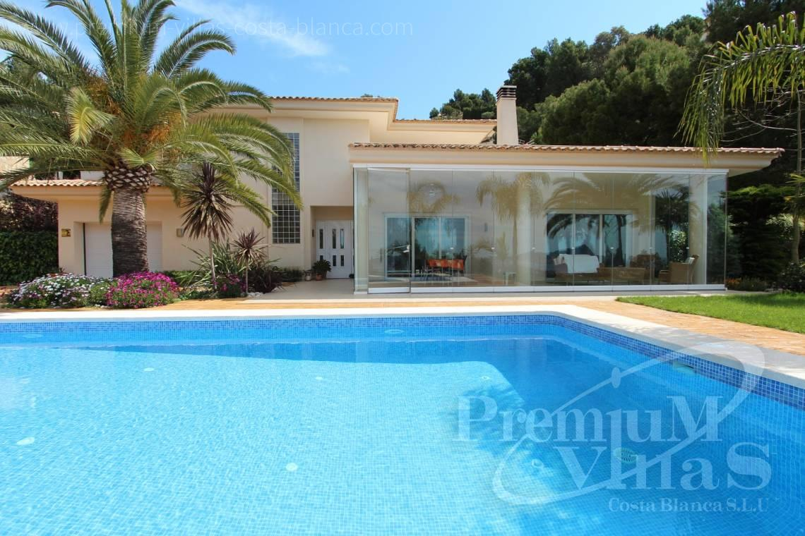 house villa for sale with private swimming pool Altea Costa Blanca Spain - C1265 - Villa with sea views for sale in Altea 4
