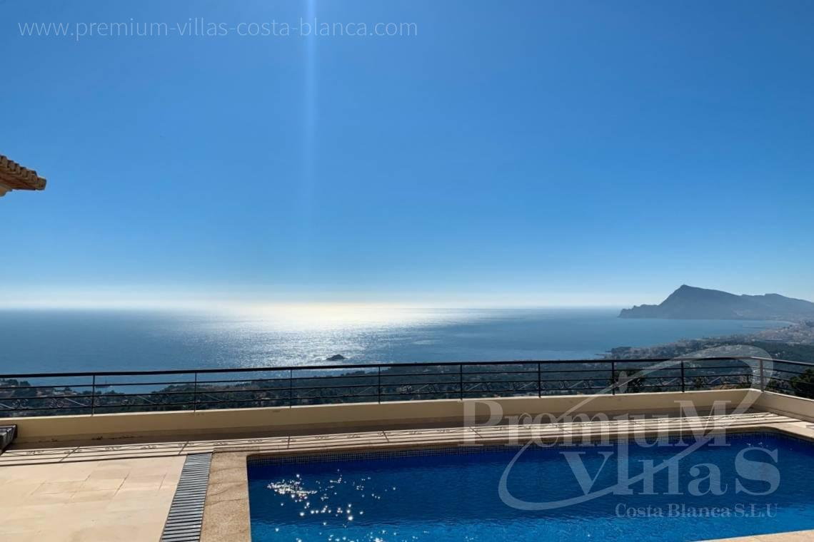 Luxury house with sea views for sale in Altea Costa Blanca - C2410 - Luxury house with stunning sea views in the Sierra de Altea 1
