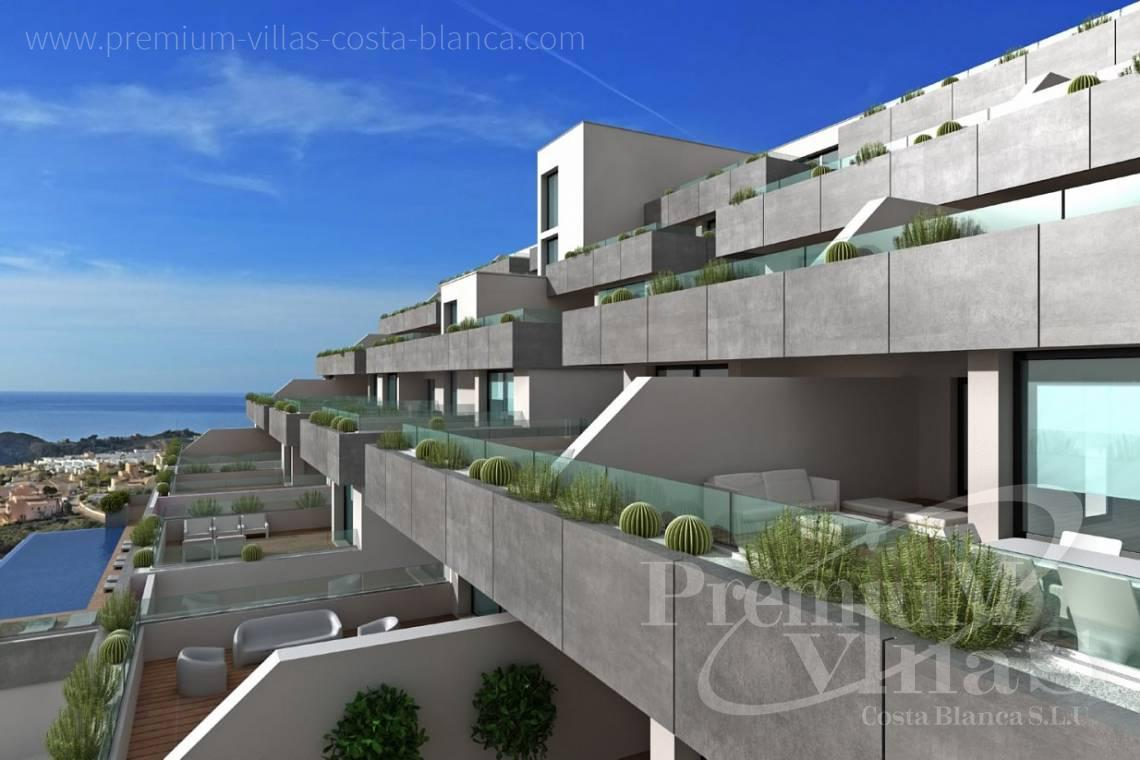 Villa house for sale in Benitachell Costa Blanca - A0536 - Under construction: Modern and luxury appartments with large terraces 4