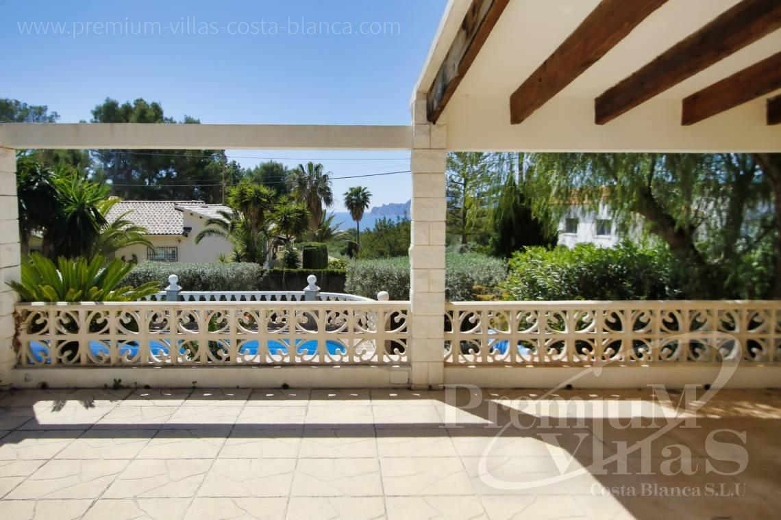 - C2129 - Privately located villa with sea view and beautiful garden in Altea 2