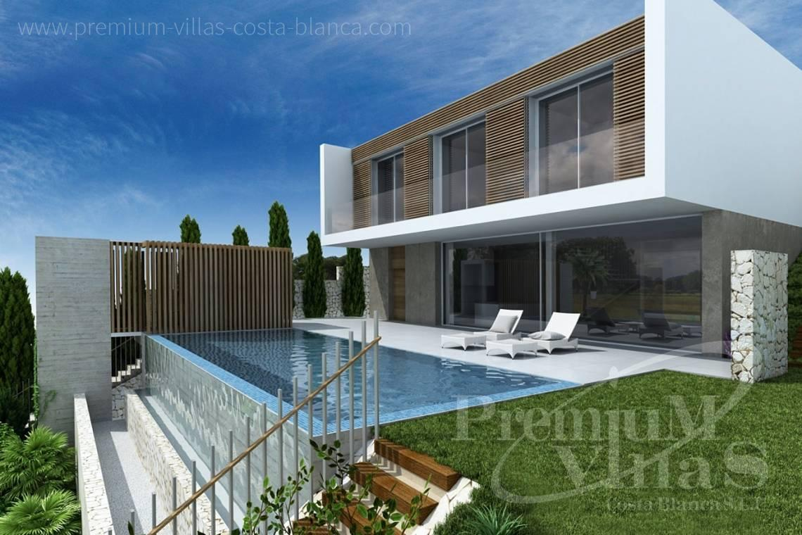 - C1912 - Under constructruction: Modern villa in Altea Hills with great views to the sea! 6